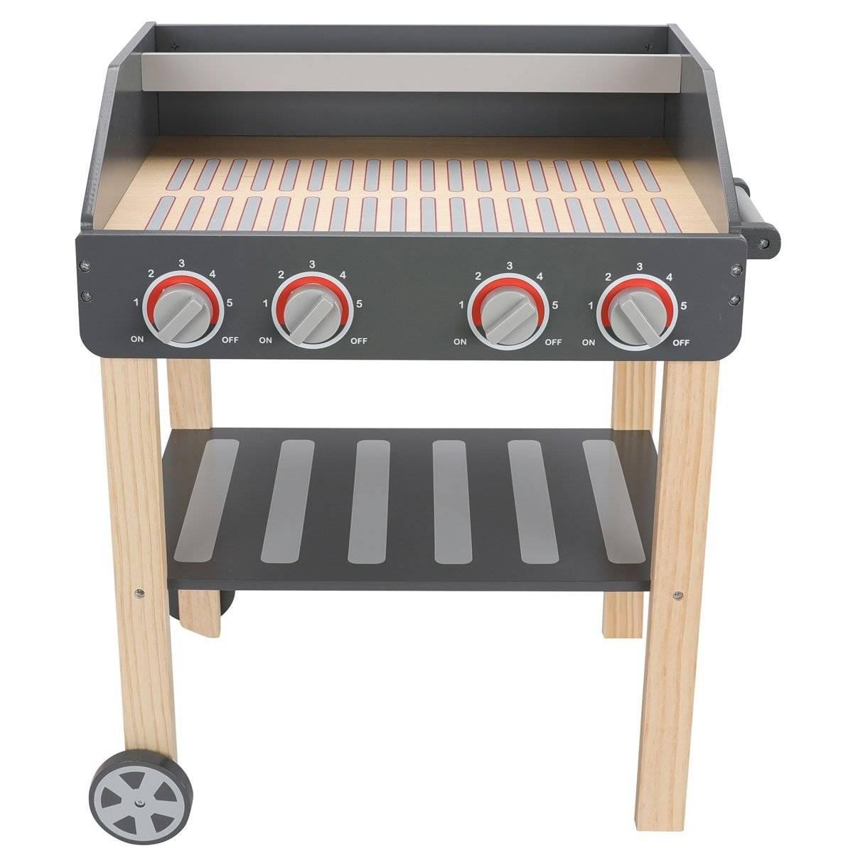 Drewniany Grill - Mistrz BBQ