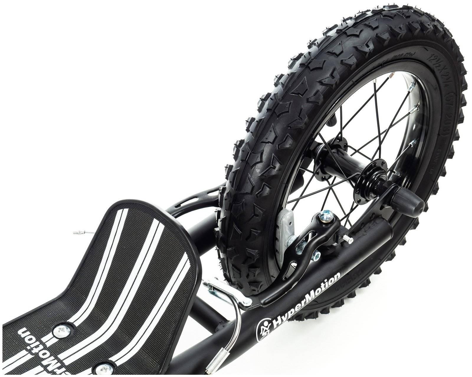 Hulajnoga HyperMotion VIVA 16 (koła 40cm + 30cm) - Czarna