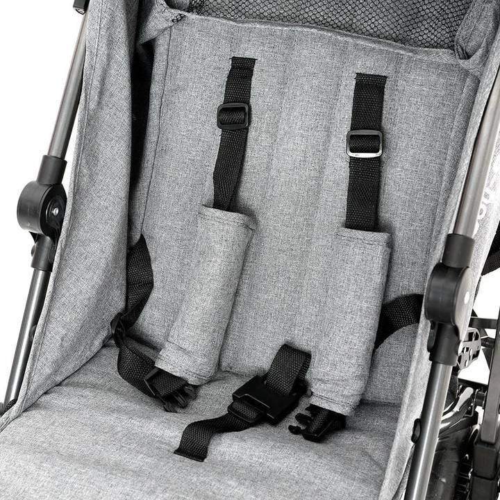 Wózek spacerowy Almond Szary